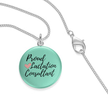 Load image into Gallery viewer, Proud Lactation Consultant Single Loop Necklace