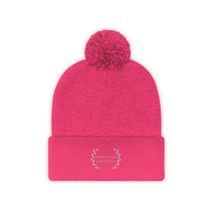 Breast Milk University Pom Pom Beanie