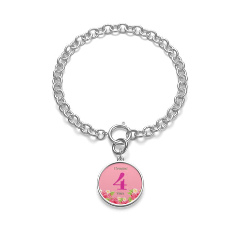 4 Years Badge Chain Bracelet