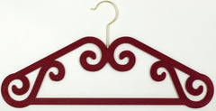 Velvet Hangers (Set of 2) - Great for Clothes, Jewelry & Scarf
