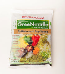 GreeNoodle (Shiitake & Soy Sauce) - 6 Packs of the Healthiest Instant Noodles