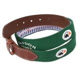 Belt with Embroidered Course Logo