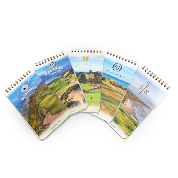 Course Yardage Books - $10 Per Book or $40 for All Five
