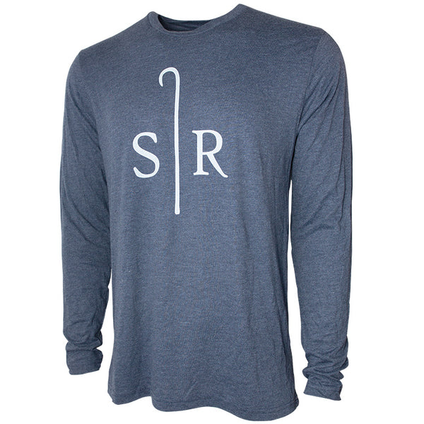 Long Sleeve Shirt Tri-Blend Transfusion Sheep Ranch Imperial