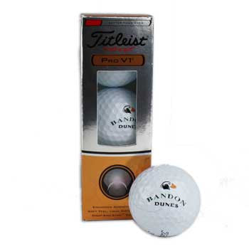 Bandon Dunes Pro-V1 Sleeve by Titleist