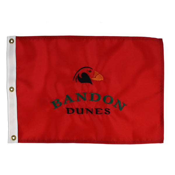 Bandon Dunes Course Flag
