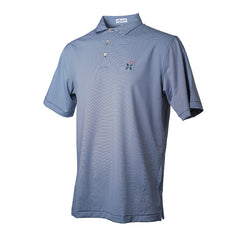 Jubilee Stripe Performance Polo- All Logos
