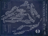 Ballpark Blueprint - Print