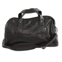 Bandon Dunes Leather Tour Duffle - Black