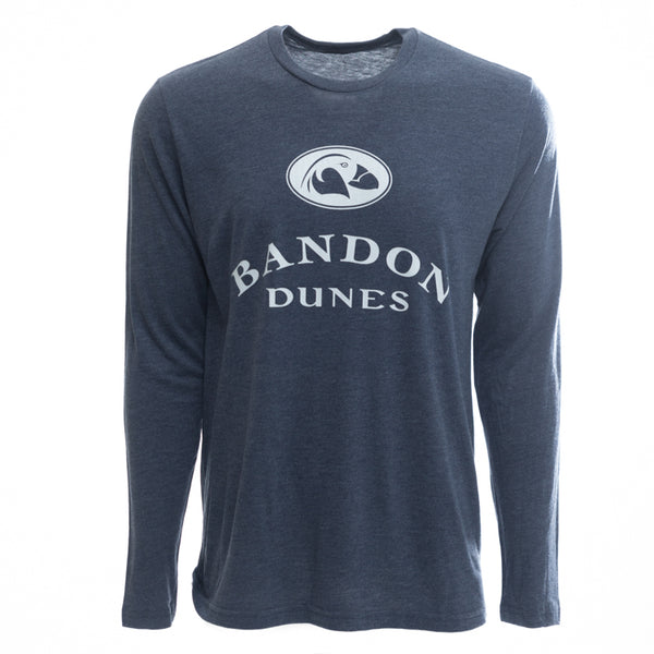 Long Sleeve Shirt Tri-Blend Transfusion Bandon Dunes Imperial