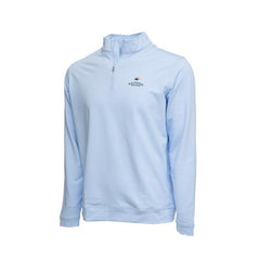 Perth Mini-Stripe Stretch 1/4 Zip - Bandon Dunes