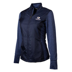 Ladies Stealth Full Zip- Bandon Dunes
