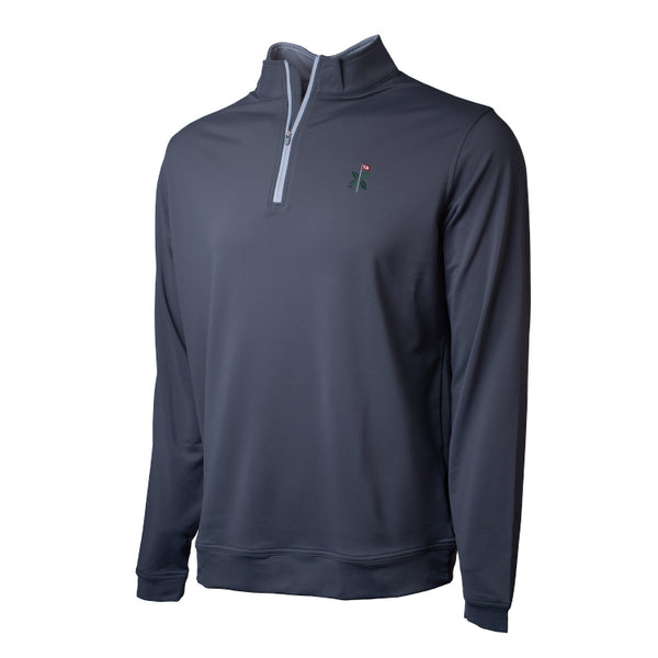 Perth Stretch 1/4 Zip- All Logos