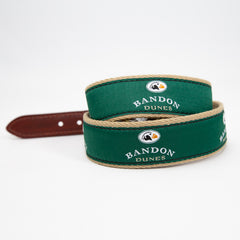 Belt with Bandon Dunes Logo