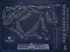 Ball Park Blueprint - Bandon Dunes