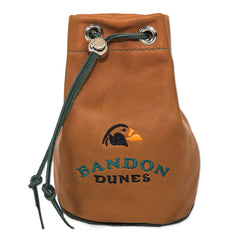 Bandon Dunes Leather Valuables Pouch