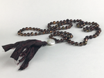 """Female Hawk"" Brown Pearl Mala"