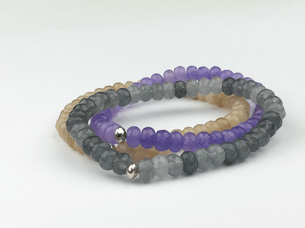 """Lightness of Being"" Bracelet Set"