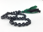 """Truth"" Green Obsidian Mala"