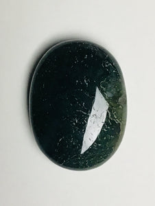 "Palm Stones - ""Moss Agate"""