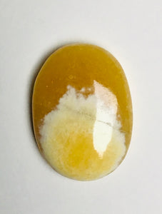 "Palm Stones - ""Yellow Calcite"""