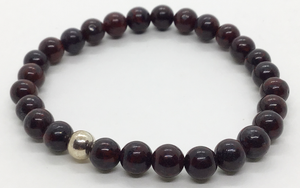 """The Depths of The Earth"" Red Hematite Jasper Bracelet"