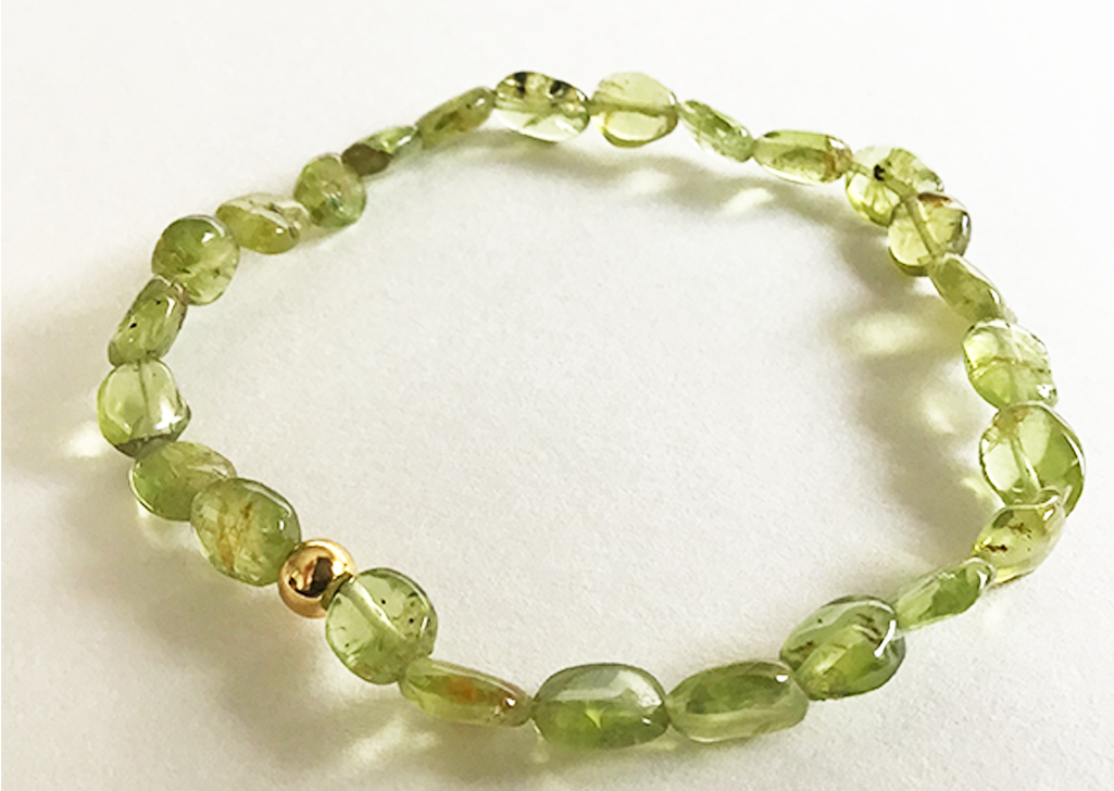 """Life Connection"" Peridot Bracelet"