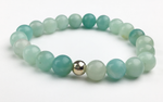 """Purification"" Amazonite Bracelet"