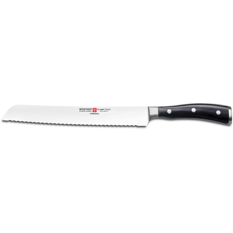 "Picture of Wusthof Classic Ikon 9"" Bread Knife"
