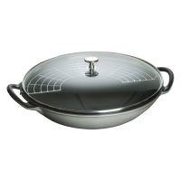 Picture of Staub Cast Iron Wok 14""