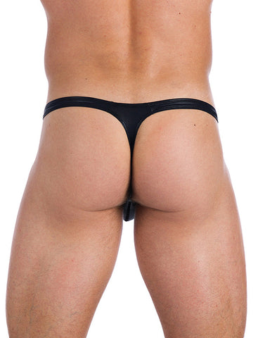 Boy Toy Thong - Black