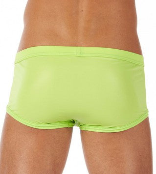 Boy Toy Square Cut Brief - Lime Green