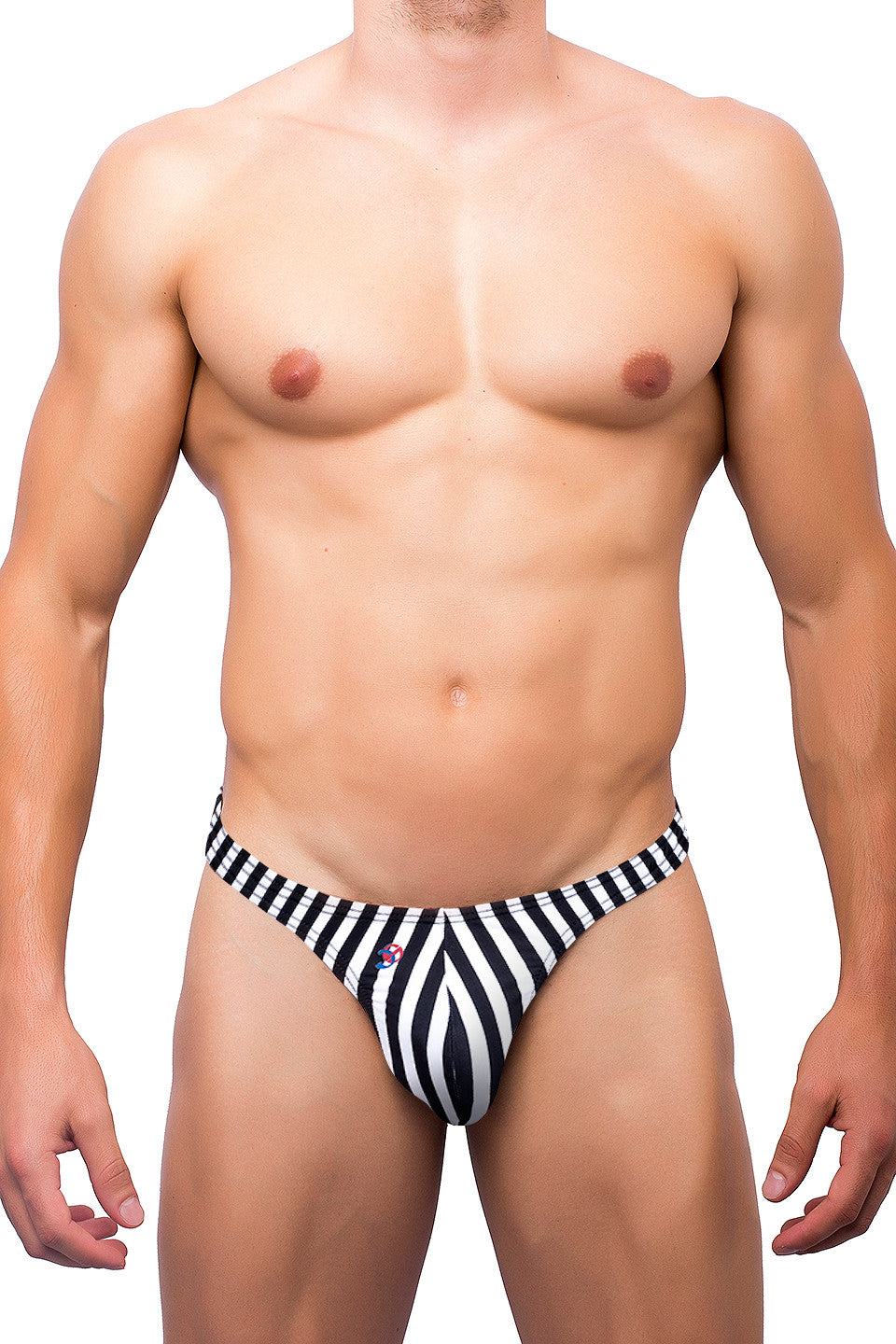 Classic Thong - Jail Pattern