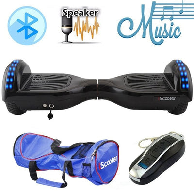 Electric Hoverboard 6.5 inch Wheel with Led Bluetooth Speaker