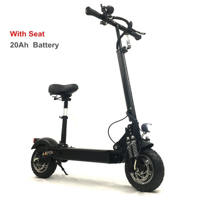 2400W Adult Electric Scooter with seat