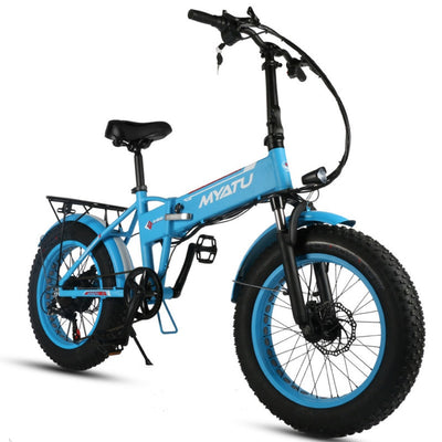 Folding Electric Bike 20Inche Of Snow Ebike
