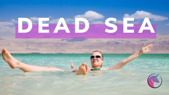Floating in the Dead Sea and the Baptism Site of Jesus in Jordan