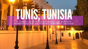 Roman Baths and the Ruins of Carthage in Tunis, Tunisia