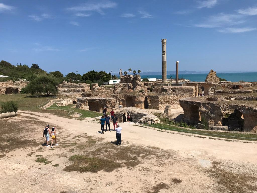Roman Baths in Tunis - Einhorn Travel Accessories