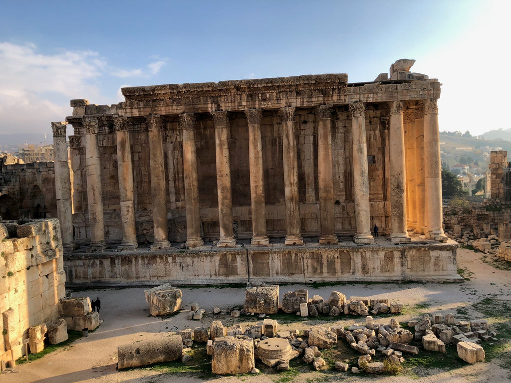 Temple of Bacchus - Baalbek, Lebanon