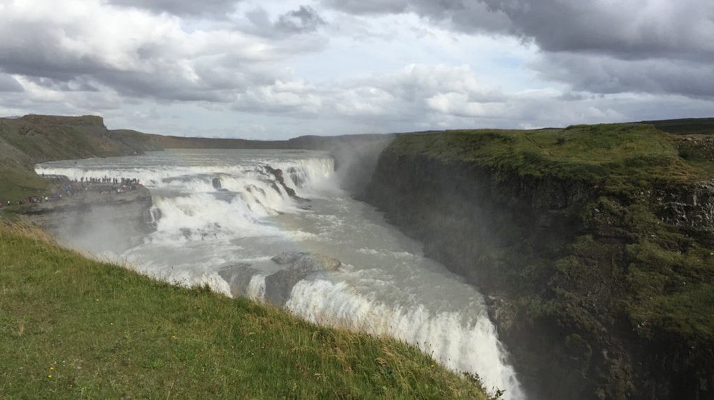 Gullfoss Waterfall | Einhorn Travel Accessories