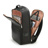 Leather Anti-Theft Backpack with USB socket - Einhorn Travel Accessories