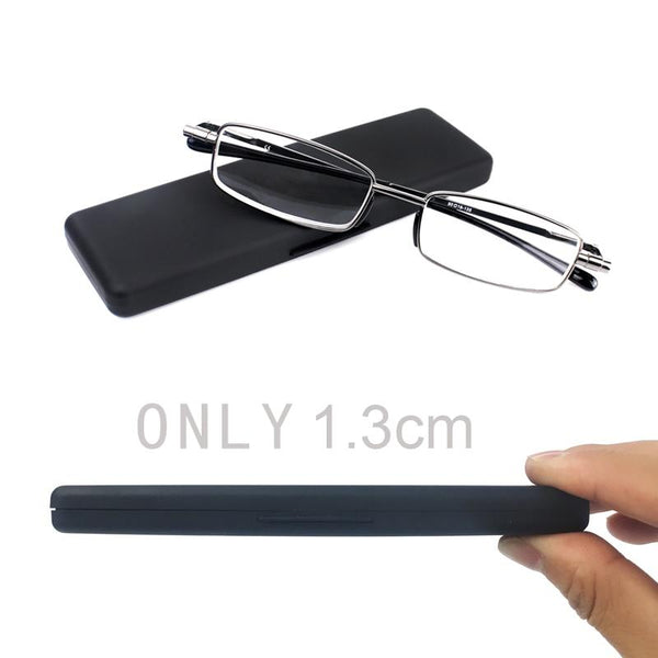 Compact Mens & Ladies Folding Reading Glasses - Einhorn Travel Accessories