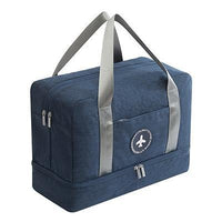 Dual Level Travel Bag - with separate shoe compartment - Einhorn Travel Accessories