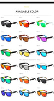 KDEAM Sport Mens Sunglasses KD505 - 26 Colours! - Einhorn Travel Accessories