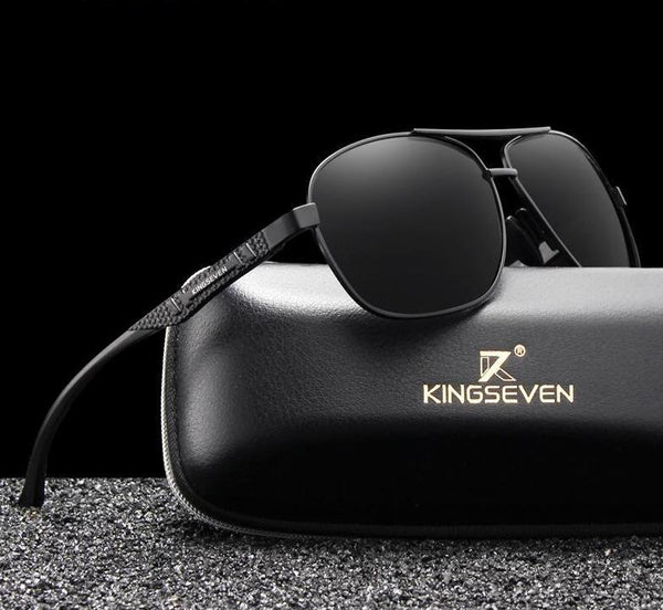 KINGSEVEN Aluminum Mens Polarized Sunglasses UV400 N7188 - Einhorn Travel Accessories