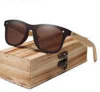 KINGSEVEN Bamboo Gafas de sol Hombre Y5788 - Einhorn Travel Accessories
