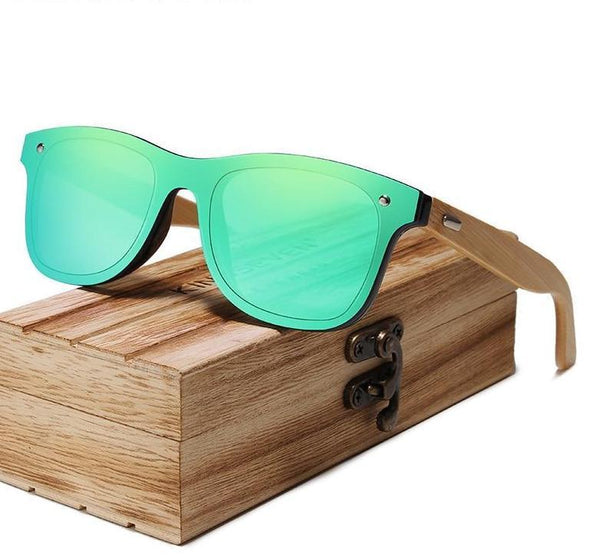KINGSEVEN Mens Bamboo Sunglasses Y5788 - Einhorn Travel Accessories