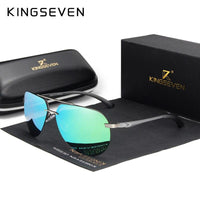 KINGSEVEN Rimless Mens Polarized Sunglasses N7413 - Einhorn Travel Accessories