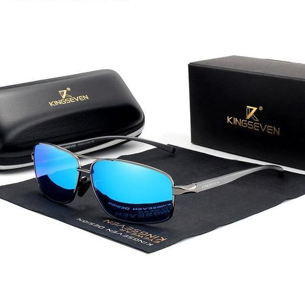 KINGSEVEN Retro Mens Polarized Sunglasses N7088 - Einhorn Travel Accessories